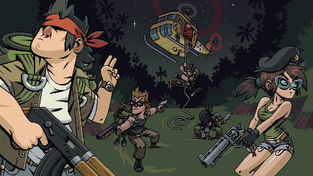 Mercenary Kings Reloaded - Splash ekrani