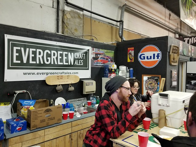 Sketch's Ink and Evergreen Craft Ales benefit for big brothers and sisters of Ottawa.