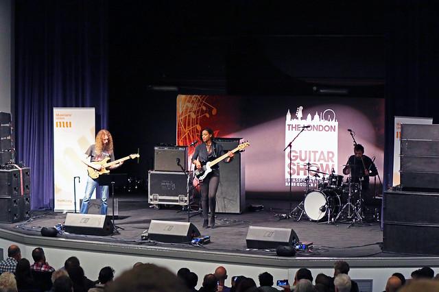 Yolanda on stage