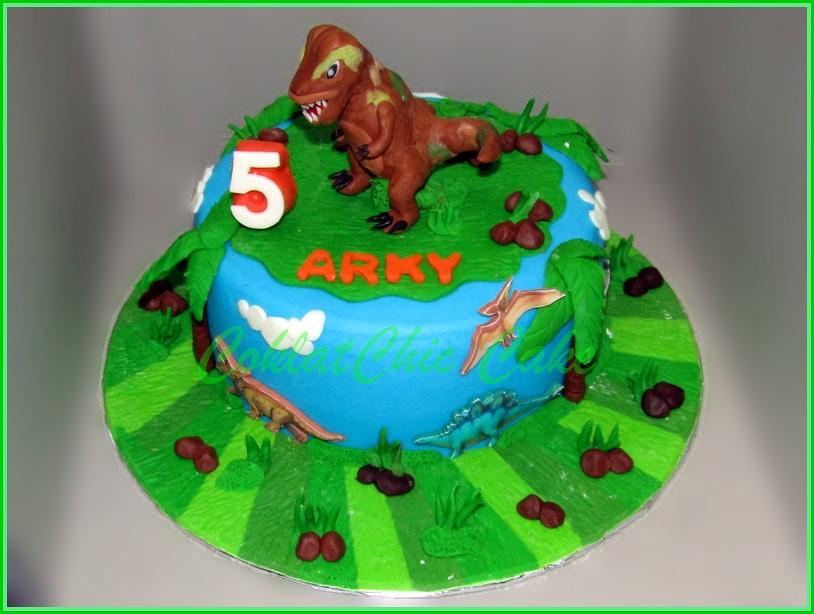 Cake Dinosaurus TRex ARKY 18 cm