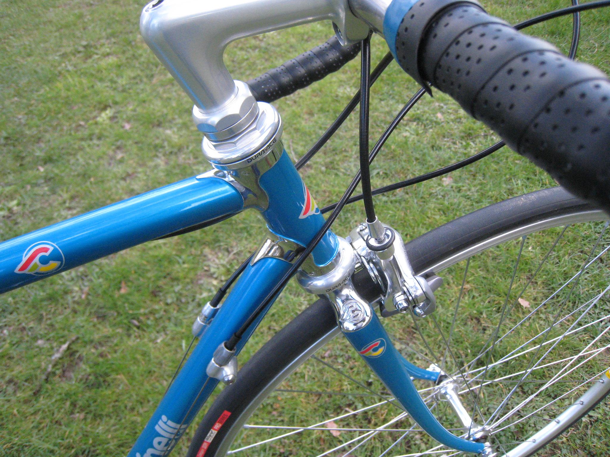 Cinelli Super Corsa. Une semaine un vélo. 26937397768_9e6e440662_k