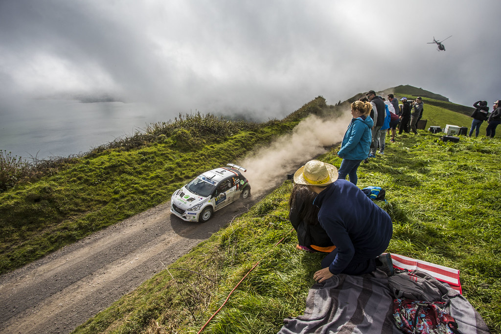 03 GRIEBEL Marijan (deu), KOPCZYK Stefan (deu), PEUGEOT 208 T16, action during the 2018 European Rally Championship ERC Azores rally,  from March 22 to 24, at Ponta Delgada Portugal - Photo Gregory Lenormand / DPPI