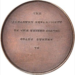 Bache Coast Survey Medal obverse
