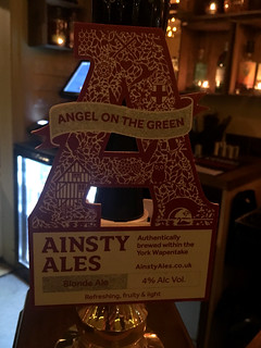 Ainsty Ales, Angel on the Green, England.