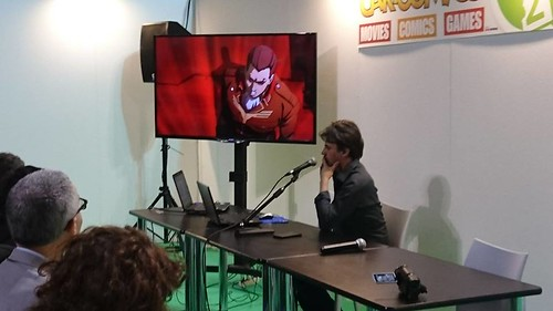 Cartoomics 2018 - Conferenza Dynit