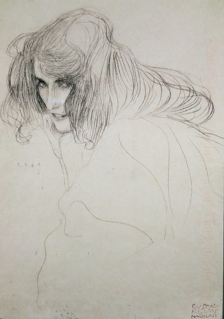 Art - Klimt - Study for the Figure of Lasciviousness - Add to Collection tag - Mickeyz1