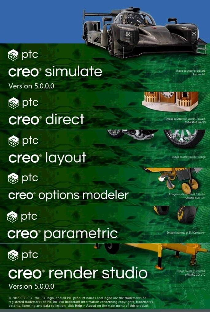 PTC Creo 5.0 F000 win64 full license