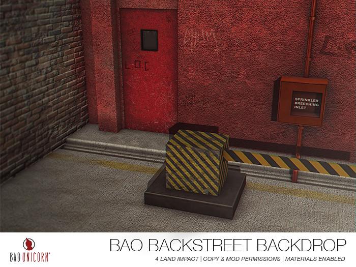 NEW! Bao Backstreet Backdrop - TeleportHub.com Live!