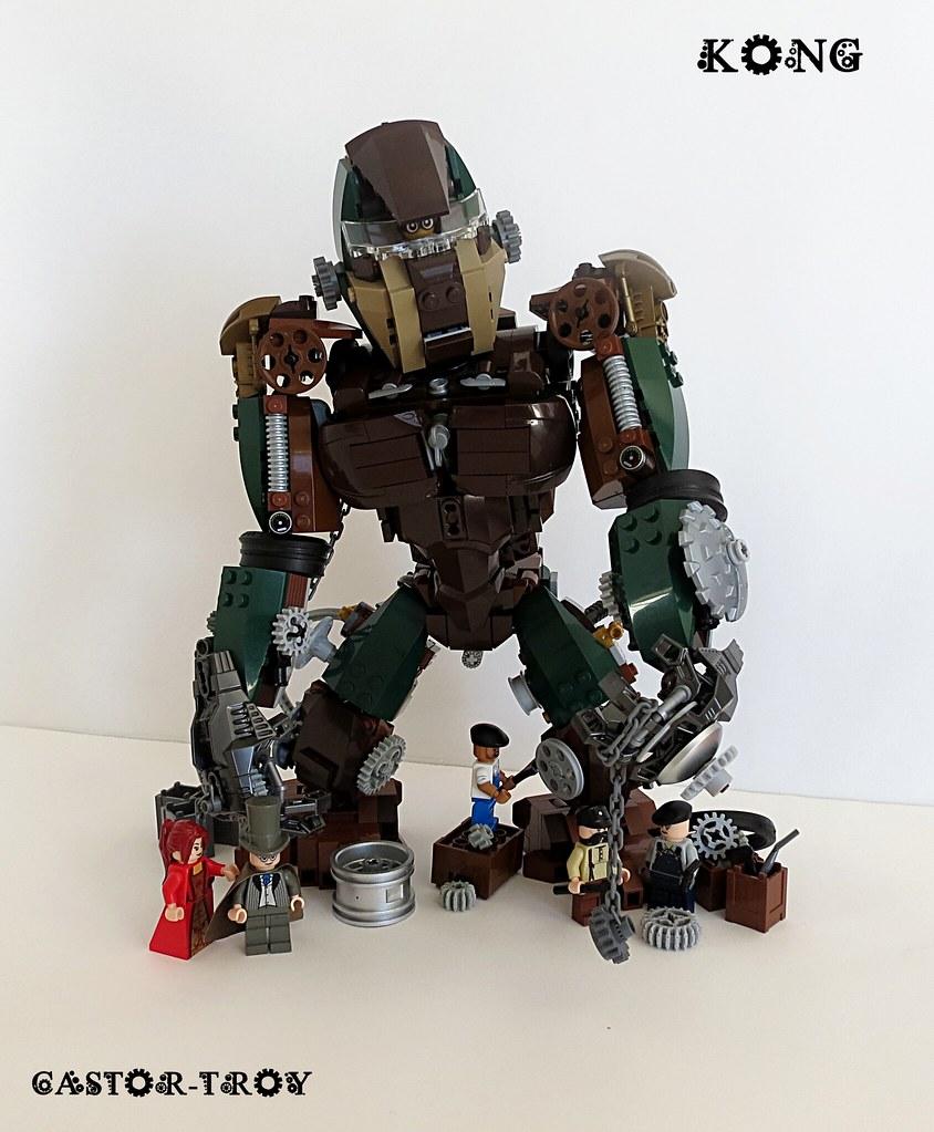 KONG Steampunk v2