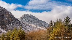 Tryfan Mountains East Face