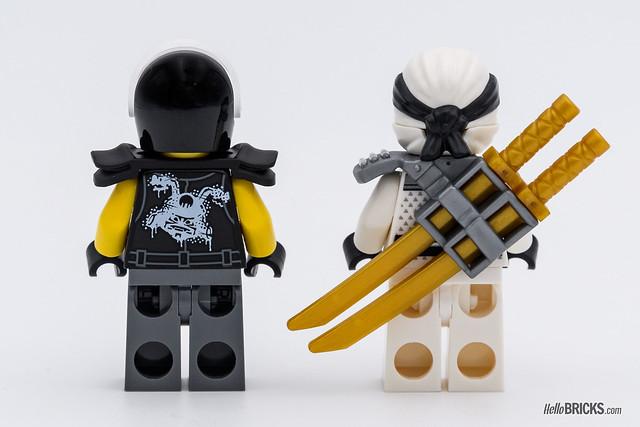 REVIEW LEGO Juniors 10755 Juniors Zane's Ninja Boat Pursuit