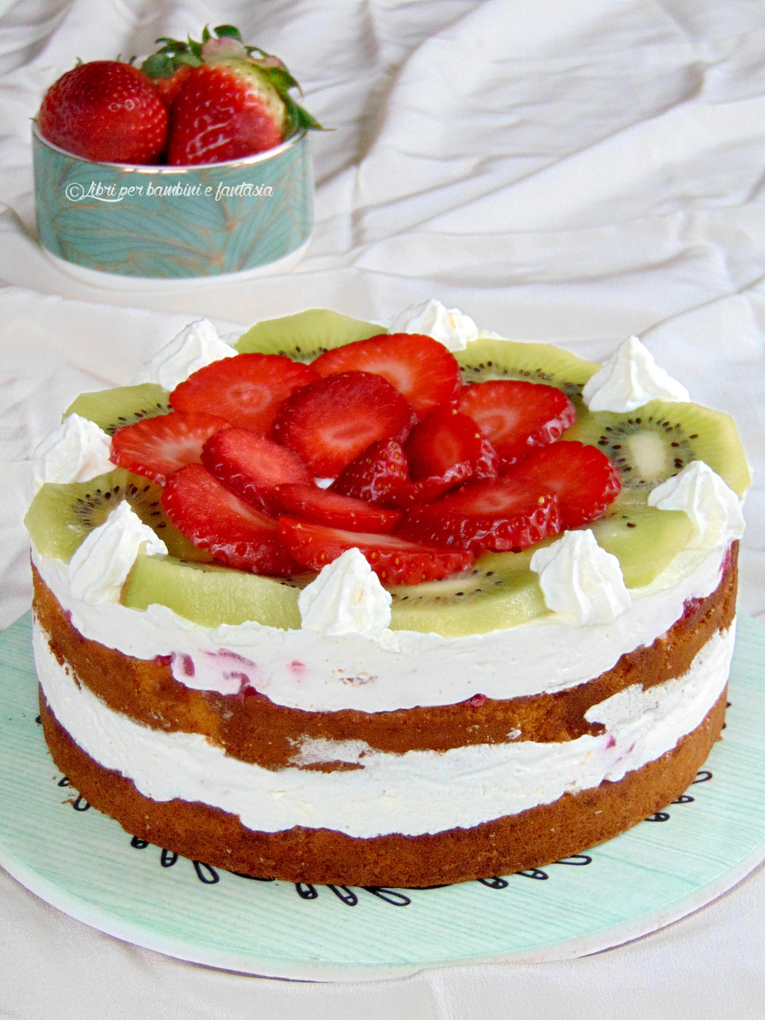 torta frutta e ricotta a