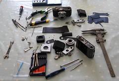 Kodak Retinette (Type 012) Restoration in progress