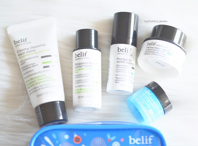 Belif Bestseller On-The-Go Travel Kit4