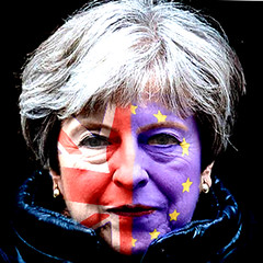 Theresa May in two minds over Brexit