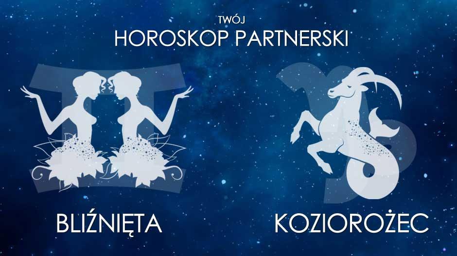 Horoskop partnerski Bliźnięta Koziorożec