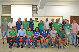 2018 - REUNIÃO DIRETORIA LHPR/PARANÁ HANDEBOL