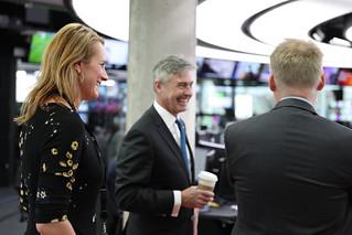 Ambassador Braithwaite Visits Bergen
