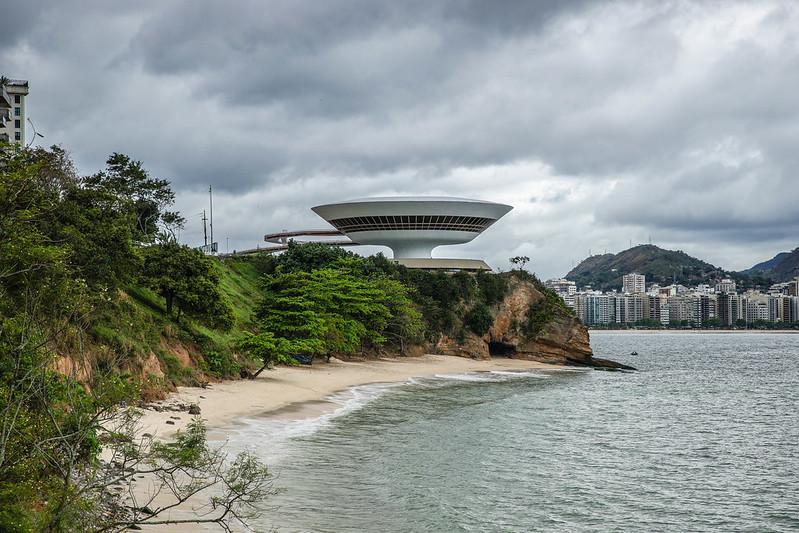 Museum de Arte Contemporanea de Niterói MAC Brasilia Brazil Rio de Janeiro museo