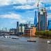 London riverfront