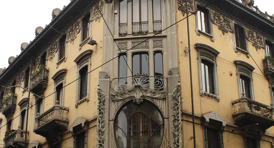 Architectuur in Turijn: Art Nouveau in Turijn | Mooistestedentrips.nl