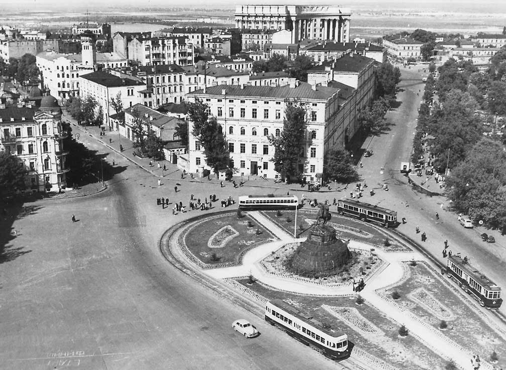 Площадь Богдана Хмельницкого (Софиевская площадь),1951 год