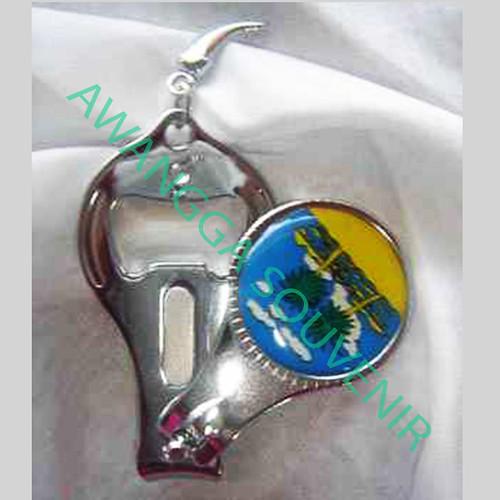 souvenir potong kuku 3 in 1 bulat