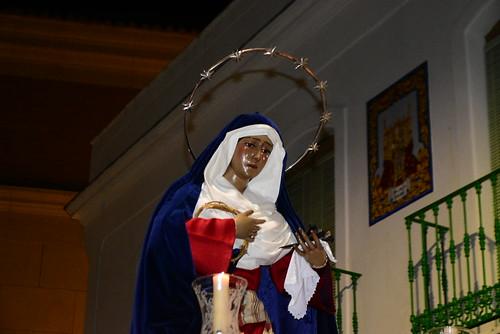 Traslado de la Virgen de los Dolores de Oración a su casa hermandad
