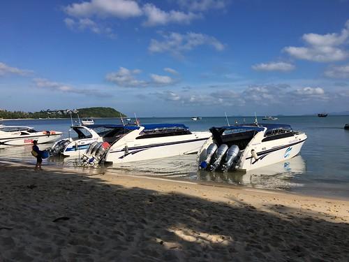 サムイ島スピードボートチャーター
