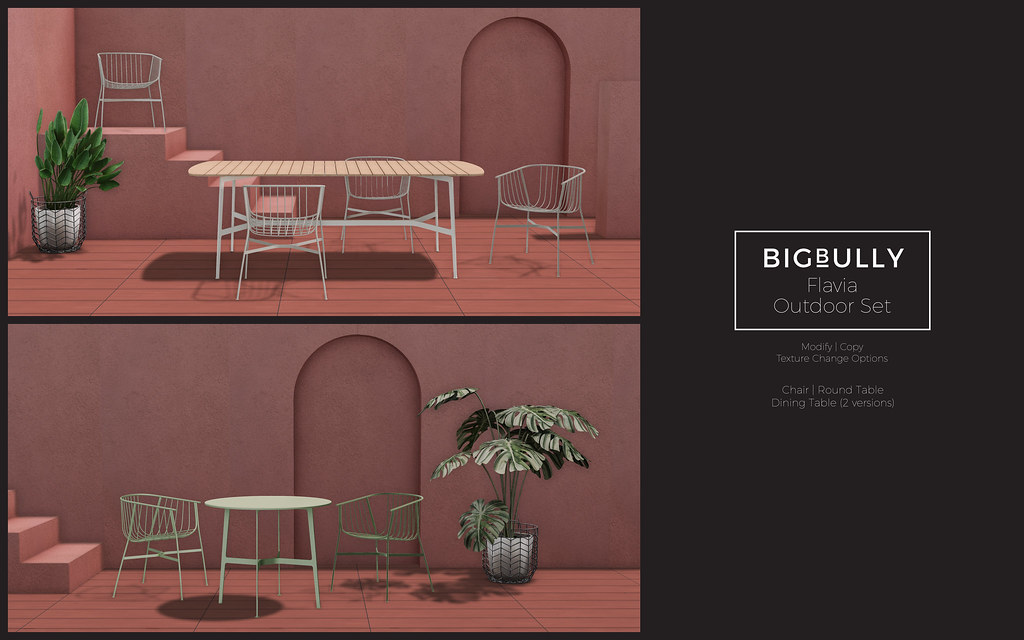 BIGBULLY Flavia Outdoor Set