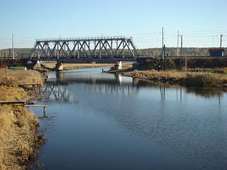 Мост через Исеть в Палкино