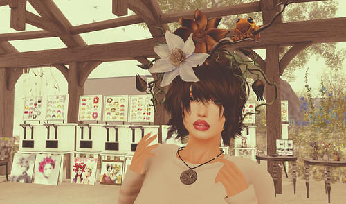 *LOAD* Head Accessary - Forest Beauty[orange frog]