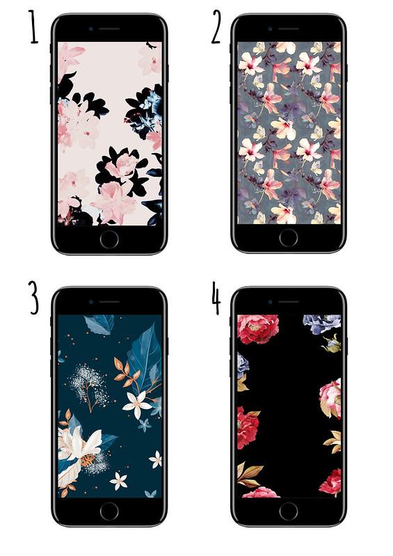 Wallpaper Blumen 1