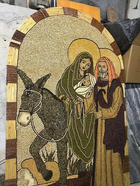 San Biagio Platani Signurari e Madunnari al lavoro per gli archi di Pasqua