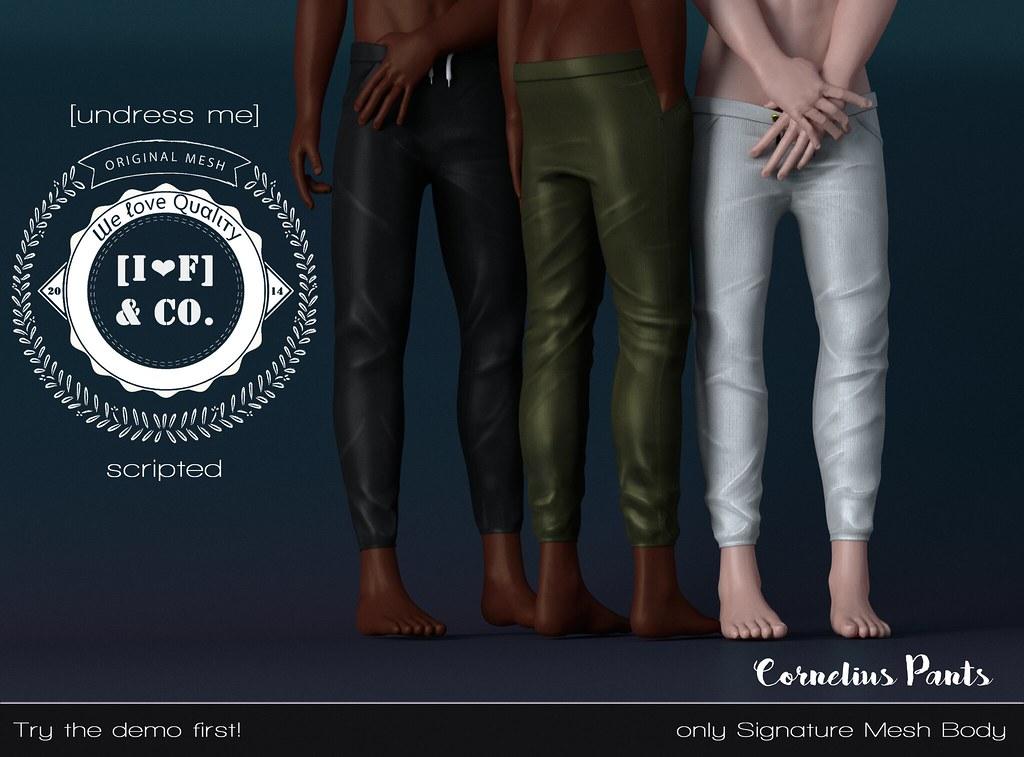 [I<3M] Cornelius Pants - undress me - TeleportHub.com Live!