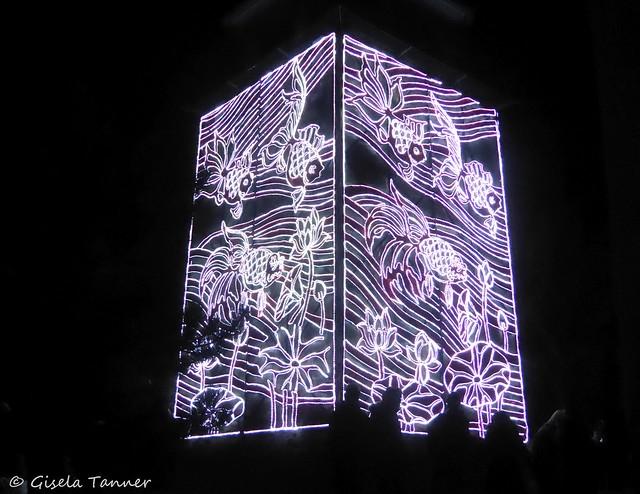 Magische Lichterwelten im Berzoo Halle