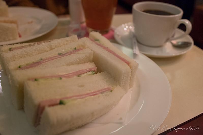 純喫茶 丘 サンドイッチ