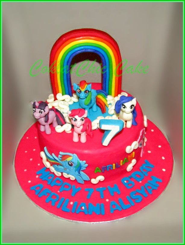 Cake My Little Pony AFRILIANI 15 cm
