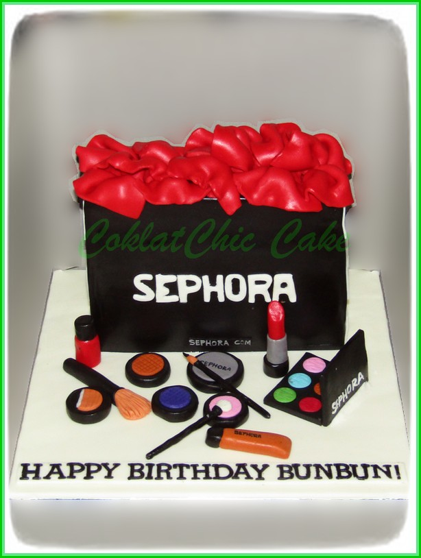 Cake Shopping Bag SEPHORA 18 cm
