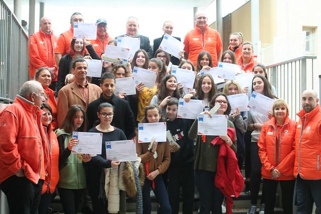 SNCM au collège à Sérignan