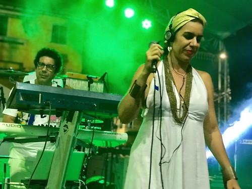 ANDRÉ SANTANA & MORGANA D'ÁVILA (Banda Mont'Serrat) Salvador (Ba) 10-03-2018