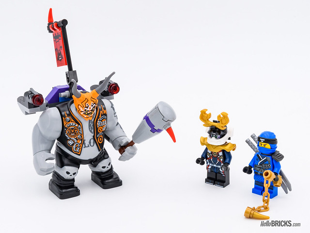 REVIEW LEGO 70642 Killow vs Samurai X