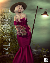 NEW! Isabella Lace Gown @ The Fantasy Collective!