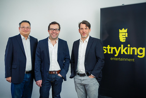 Hong Thieu CFO, Dirk Weyel Founder & CEO and Christian Szymanski Co-Founder & CMO