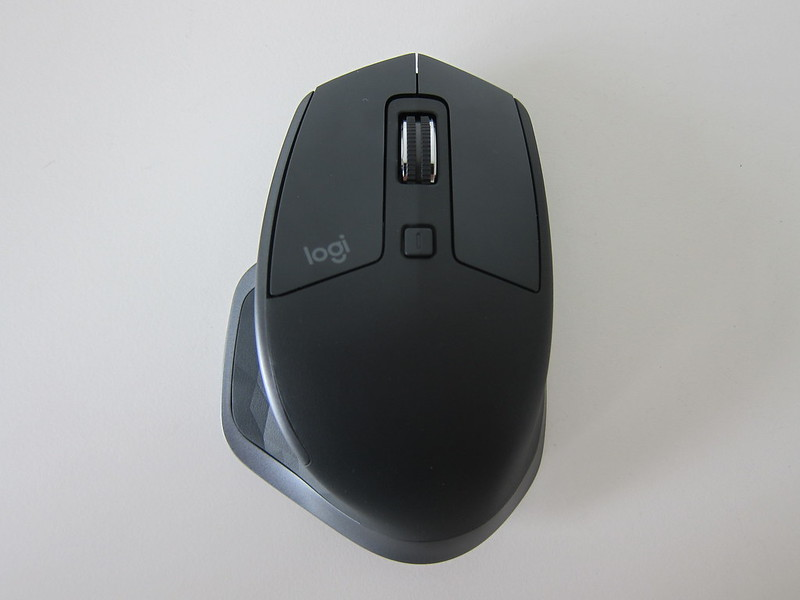 Logitech MX Master 2S Wireless Mouse - Top