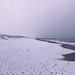 snow covered beach