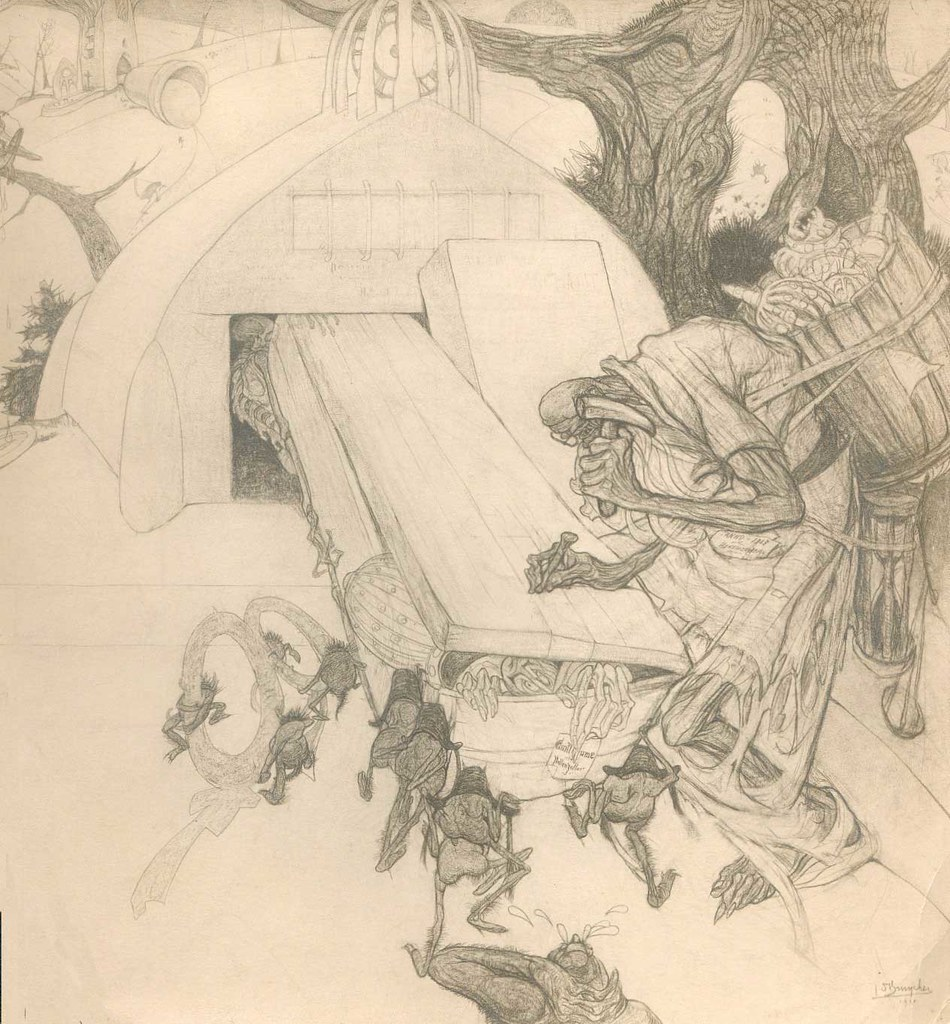 Jules De Bruycker - War Drawing,  1914-18
