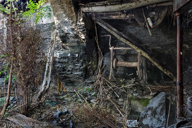 Almazara en ruinas