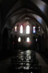 20120916 19 085 Jakobus Gimont Kirche Altar Kirchenfenster - Photo of Gimont