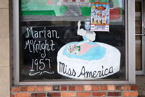 Marian McKnight 1957 Miss America